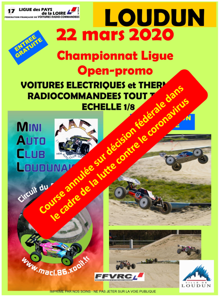 Affiche annulation MACL