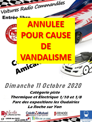 annulation course du 11 octobre