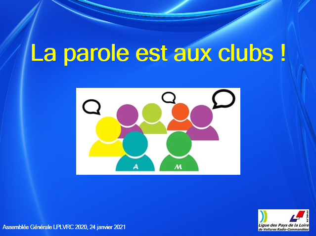 Tour de table des clubs